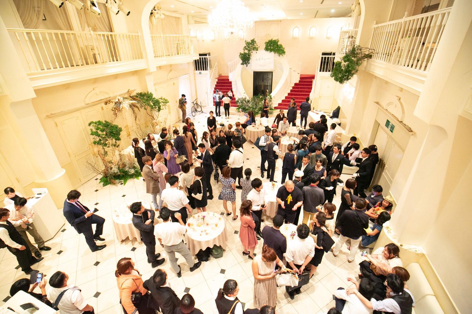 2019.8.8結婚式二次会 立食パーティー 130人