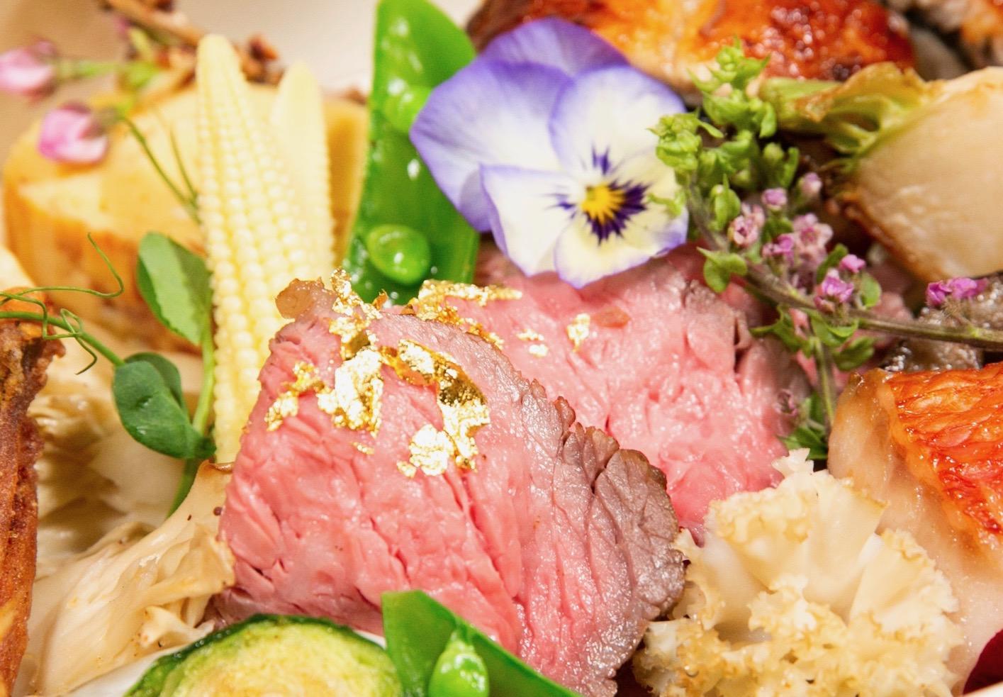 宮崎県産和牛のローストビーフ